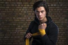 马来西亚拳击手 图库摄影