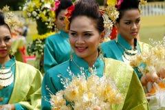 马来西亚文化成套装备 库存照片