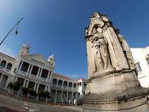 马来西亚槟榔岛 高等法院街道视图 免版税库存图片