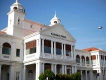 马来西亚槟榔岛 高等法院街道视图 免版税图库摄影