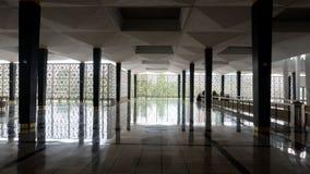 马来西亚清真寺国民 免版税库存照片