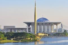 马来西亚清真寺 免版税库存图片