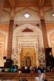 马来西亚清真寺putra 免版税图库摄影