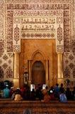 马来西亚清真寺putra 库存照片