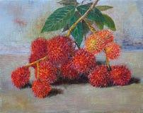 马来西亚热带水果 免版税图库摄影