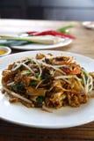 马来西亚烹调,米线 免版税图库摄影