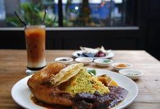 马来西亚烹调 免版税图库摄影