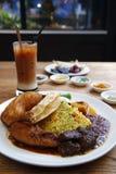 马来西亚烹调 库存图片