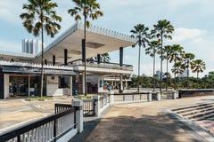 马来西亚的全国清真寺是一个清真寺在吉隆坡,马来西亚 免版税库存图片