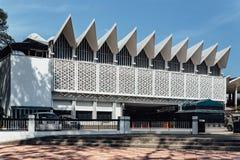 马来西亚的全国清真寺是一个清真寺在吉隆坡,马来西亚 图库摄影