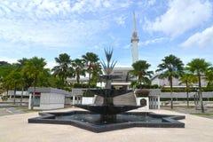 马来西亚的全国清真寺 图库摄影