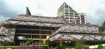 马来西亚的国立图书馆 免版税库存图片