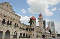 马来西亚的Dataran Merdeka 库存图片