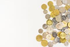 马来西亚硬币 图库摄影