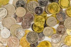 马来西亚硬币 免版税库存照片