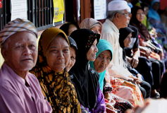 马来西亚竞选 免版税库存照片