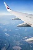 马来西亚航空公司波音747/777 免版税图库摄影