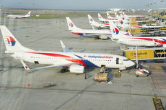 马来西亚航空 库存照片
