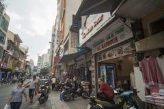 马来西亚街胡志明 免版税库存图片