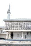 马来西亚,吉隆坡的全国清真寺 库存图片
