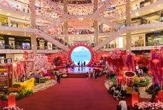 马来西亚,吉隆坡- 2月2018 05日:五颜六色的装饰 图库摄影