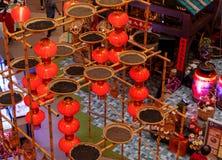 马来西亚,吉隆坡- 2月2018 07日:五颜六色的装饰 库存图片
