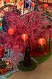 马来西亚,吉隆坡- 2月2018 07日:五颜六色的装饰 免版税图库摄影