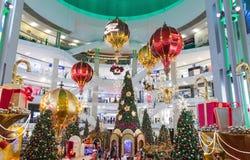 马来西亚,吉隆坡- 12月2017 07日:亭子购物的mal 图库摄影