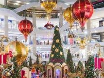 马来西亚,吉隆坡- 12月2017 07日:亭子购物的mal 免版税库存图片