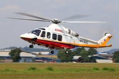 马来西亚-火灾及援救服务 免版税库存照片
