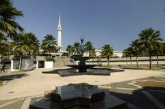 马来西亚a的全国清真寺尖塔  K Masjid Negara 库存照片