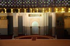 马来西亚a的全国清真寺米哈拉布  K Masjid Negara 图库摄影