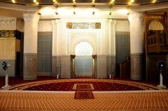 马来西亚a的全国清真寺米哈拉布  K Masjid Negara 库存图片
