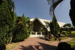 马来西亚a的全国清真寺 K Masjid Negara 图库摄影