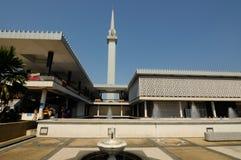 马来西亚a的全国清真寺 K Masjid Negara 免版税库存图片