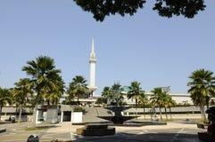 马来西亚a的全国清真寺 K Masjid Negara 免版税库存照片
