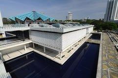 马来西亚a的全国清真寺 K Masjid Negara 免版税图库摄影