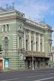 马林斯基剧院在圣彼得堡,俄罗斯 免版税库存图片
