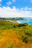 马林陆岬堡垒Cronkhite Rodea海滩SF v 库存照片