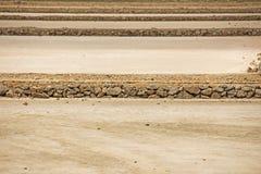 马查马洛3月Menor盐舱内甲板,穆尔西亚,西班牙 免版税库存照片