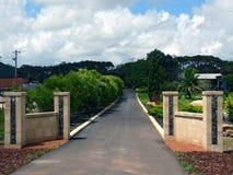 马格丽特里弗澳大利亚的酒首都。 库存照片