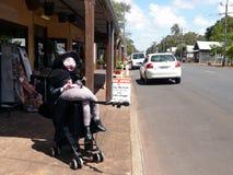马格丽特里弗澳大利亚的酒首都。 库存图片