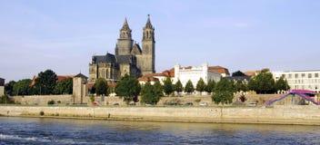 马格德堡教会 免版税库存照片