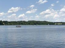 马歇尔湖在宾夕法尼亚 免版税库存照片