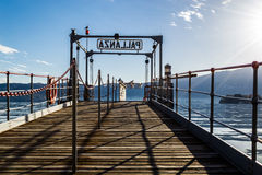 马焦雷湖 免版税图库摄影