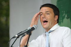 马特奥renzi,意大利 免版税库存照片