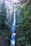 马特诺玛瀑布,波特兰,俄勒冈 库存照片