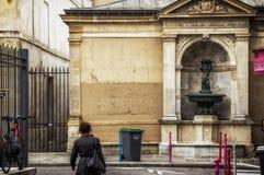 马瑞斯区,巴黎 免版税库存照片