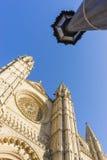 马略卡大教堂 免版税库存图片