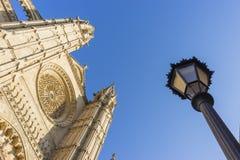 马略卡大教堂 库存照片